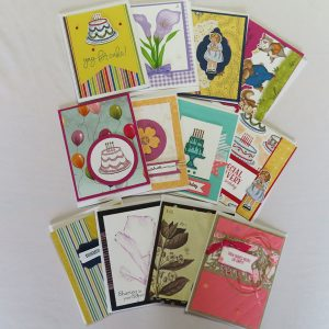 handmade greeting cards set of 12